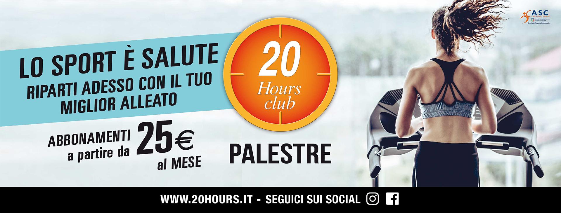 Home 20 Hours Club Fitness E Palestre Milano Monza Brianza Como Varese